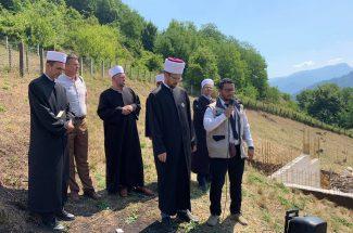 Thumbnail for the post titled: Položen kamen temeljac za izgradnju džamije na Slatini